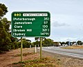 Highway sign, Orroroo, 2017 (02).jpg