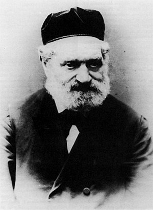 Schism in Hungarian Jewry - Rabbi Azriel Hildesheimer.