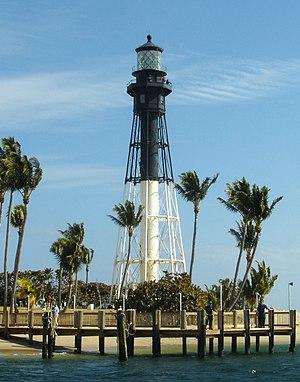 Hillsboro Inlet Light - Image: Hillsboro Inlet Lighthouse