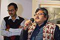 Himadri Sekhar Dutta Addressing - Inaugural Function - Joy Mukhopadhyay Solo Exhibition - Kolkata 2014-12-12 1111.JPG
