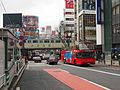 Hinomaru OP-12 Sky Bus Tokyo Omotesando Shibuya course.jpg