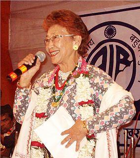 Hira Devi Waiba Indian singer
