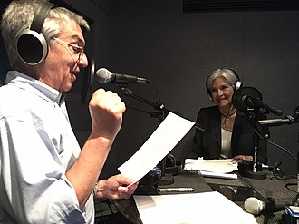 Political podcast - Historian Jon Wiener, host of The Nation magazine podcast Start Making Sense, interviews Green Party candidate Jill Stein in 2016.