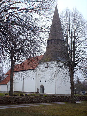 Hogrän Church - Image: Hogrän