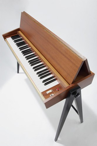 Pianet - Pianet N (Version II). This is a US voltage model sold around 1975 close to the end of production.