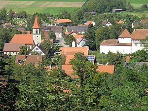 Frankenhardt - Honhardt village in Frankenhardt