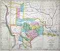 Hooker Map of the State of Coahuila and Texas 1834 UTA.jpg