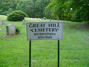 Great Hill Cemetery - Great Hill Cemetery in 2007