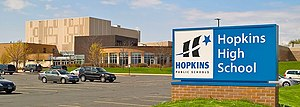 Hopkins High School - Image: Hopkins High School Minnetonka