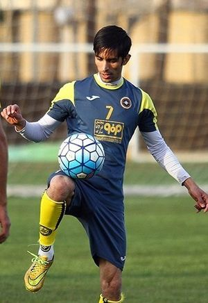 Hossein Papi - Papi in Sepahan training in 2016