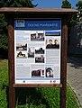 Hostivař, čestné pohřebiště, informační tabule.jpg