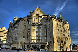 Hotel Macdonald - The Hotel Macdonald in downtown Edmonton