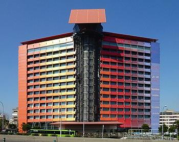 Hotel puerta am rica wikipedia la enciclopedia libre - Silken puerta de america ...