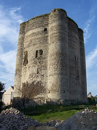F for Fake - The Donjon de Houdan, seen in the Oja and Picasso story.