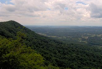 House Mountain (Knox County, Tennessee) - Image: House mountain west tn 1