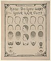 How do you want your hair cut? LCCN2003674695.jpg
