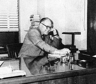 Howard Browne - Image: Howard Browne 1952