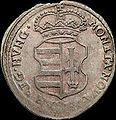 Hun II Rakoczi Ferenc Poltura 1704 NB Huszar 1527 obverse.jpg