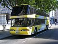 Hungarian Neoplan N122 visitor LLG 681 of Contibus., London 1 July 2009 - Flickr - sludgegulper.jpg