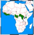 Hylochoerus meinertzhageni range map.png
