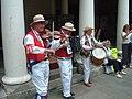 """Hythe Festival - """"East Kent Morris Men"""" - geograph.org.uk - 2292333.jpg"""