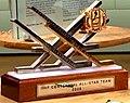 IIHF Centennial All Star Team Trophy (Team of the Century – Vladislav Tretjak, Börje Salming, Vjatjeslav Fetisov, Valerij Charlamov, Sergej Makarov and Wayne Gretzky.jpg