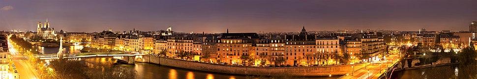 Սեն, Սիտե կղզին, Փարիզի Աստվածամոր տաճարը և Սեն–Լուի կղզին: