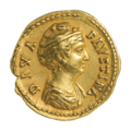 INC-1875-a Ауреус. Фаустина Старшая. После 141 г. (аверс).png