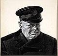 INF3-83 Winston Churchill in Trinity House uniform Artist Marc Stone.jpg