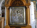 ISRAEL - Lidda (Lod) - GREEK ORTHODOX MONASTERY OF ST. GEORGE, LOD - (detail 10 - ikon) (ID is 9-7000-004).JPG