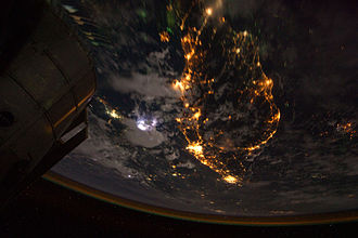 Malay Peninsula - Photo of Malay Peninsula taken by the crew of Expedition 28 on board the International Space Station.