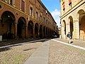 I portici di via Santo Stefano.JPG