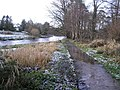 Icy path, Cranny - geograph.org.uk - 1130965.jpg