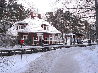 How to get to Igelboda with public transit - About the place