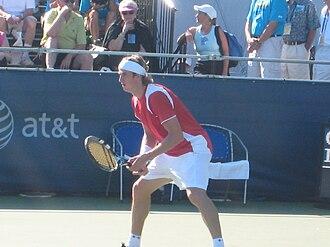 Igor Andreev - Andreev at the 2008 Pilot Pen Tennis tournament
