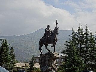 Equestrian statue of Ashot II of Armenia