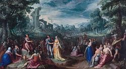 Karel van Mander: De grootmoedigheid van Scipio