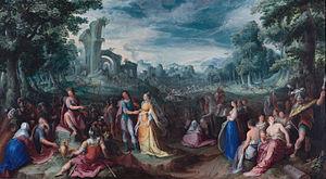 Karel van Mander - The Continence of Scipio, 1600, Rijksmuseum, Amsterdam