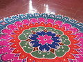 India - Sights & Culture - Chalk decoration for Republic Day 1 (5208307655).jpg