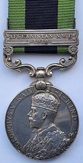 India General Service Medal (1909) Award