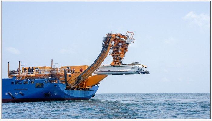 Indian Navy conducts maiden trials of its first Deep-submergence rescue vehicle (5)