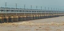 Indrapuri dam front.jpg