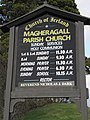 Information Board at Magheragall Parish Church - geograph.org.uk - 1591522.jpg