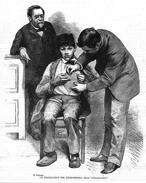 Inoculation of Jean-Baptiste Jupille