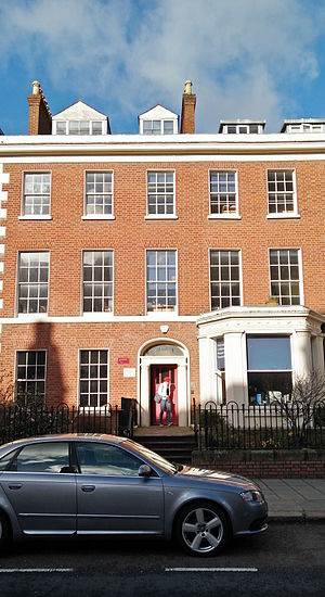 Institute for Collaborative Research in the Humanities - ICRH office at 18 University Square at Queen's University Belfast