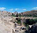 Intérieur de l'arène romaine de Lambaesis.JPG