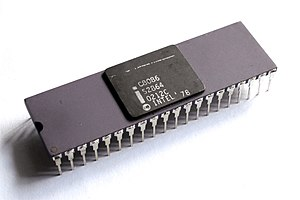 Intel 8086 - The purple ceramic C8086 variant