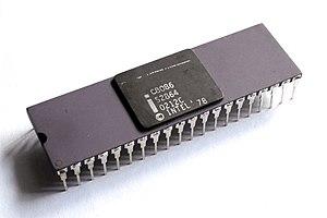 Intel 8086 - The purple ceramic C8086 variant