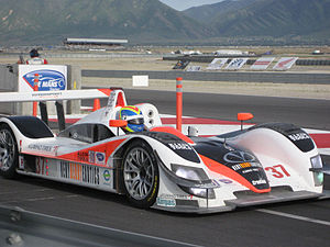 Intersport Racing - Intersport's new Creation CA06/H at the 2007 Utah Grand Prix.