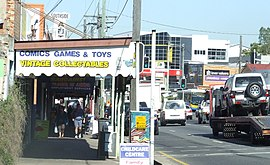 Ipswich Rd at Annerley Junction, Brisbane, Queensland, Australia 090617.JPG